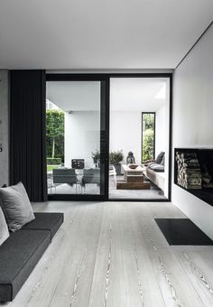 Raw, modern and unique were the key words when this Danish family decided to build their dream house. The result is a four storey building i...