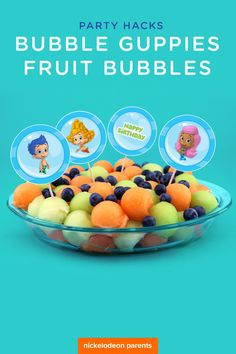 These fin-tastic treats are a quick and easy addition to your preschooler's Bubble Guppies birthday party!