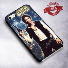 Awesome Star Wars Han Solo Galaxy - For iPhone 4/ 4S/ 5/ 5S/ 5SE/ 5C/ 6/ 6S/ 6 PLUS/ 6S PLUS/ 7/ 7 PLUS Case And Samsung Galaxy Case