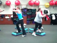 Created on March 6 various patterns to watch! What a blast! Step Aerobic Workout, Aerobics Workout, Step Aerobics, Basketball Court, Health Fitness, Muscle, Sports, Youtube, March