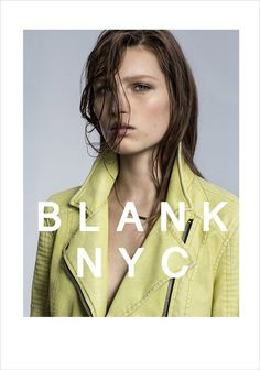 Liz Kennedy for Blank NYC Spring Summer 2015