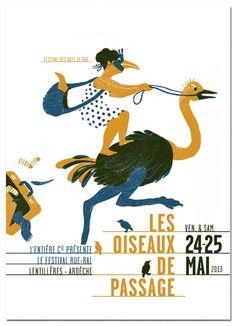 Les Oiseaux de Passage 2013, Festival des arts de rue, Lentillères (© Evelyne Mary)