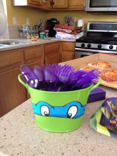 Turtle Birthday Parties, Ninja Turtle Birthday, Ninja Turtle Party, Birthday Fun, Ninja Turtles, Ninja Party, Carnival Birthday, Birthday Cakes, Birthday Ideas
