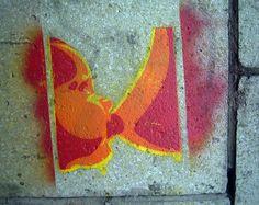 breast feeding stencil by duncan, via Flickr