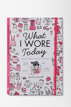 """""""What I Wore Today"""" book to keep track of what you wear to take on the world!"""