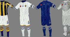 FIFA 14 Fenerbahçe 2014-2015 Forma - Kit