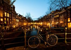ROMANTIC. With its Old World charm, shimmering canals spanned by lighted bridges and cobblestone streets perfect for lovers' strolls, Amsterdam is a Casanova's paradise.