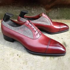 Two Tone Burnished Formal Shoes Trendy Mens Shoes, Formal Shoes For Men, Mens Fashion Shoes, Casual Leather Shoes, Suede Leather Shoes, Church's Shoes, Dress Shoes, Shoes Men, Mens Business Shoes