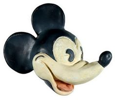 Mickey Mouse Vintage string holder head.