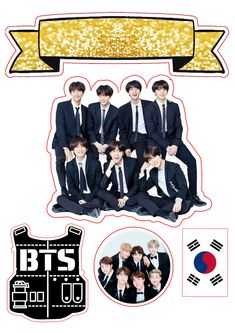 Pop Stickers, Tumblr Stickers, Funny Stickers, Printable Stickers, Bts Bangtan Boy, Bts Jimin, Bts Cake, Kpop Diy, Bts Birthdays