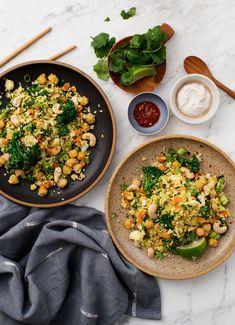 Cauliflower Turmeric Rice Recipe - Love and Lemons