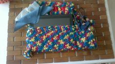 Crochet Funda tablet.