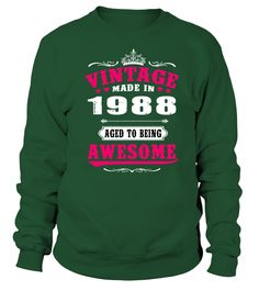 1988 Vintage Aged to being Awesome   sister gifts, brother sister gifts, funny sister gifts, birthday gifts sister #sistershirts #giftforsister #family #hoodie #ideas #image #photo #shirt #tshirt #sweatshirt #tee #gift #perfectgift #birthday #Christmas