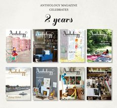 Anthology magazine; probably my favorite magazine out there right now