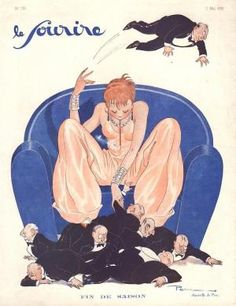 Le Sourire May 1931 Illustration by Pem by bessie