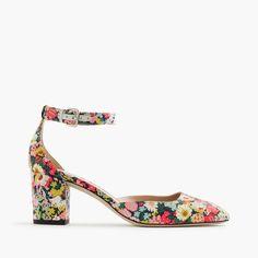 Elliot heels in Liberty® Thorpe floral