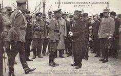 Troupes Russes à Marseille