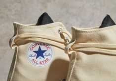 Converse Style, Converse Chuck, All Star, Color Blocking, Essentials, Reusable Tote Bags, Ivory, Kicks, Detail