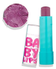Shop a Spectrum of the Season's Most GORGEOUS Tinted Lip Balms - Maybelline New York Baby Lips in Grape Vine, $5, cvs.com - #InStyle