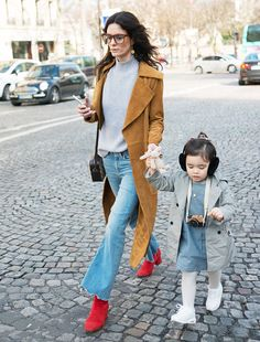 The Cutest Winter Outfit Ideas for Kids via @WhoWhatWear