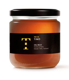 Mel de Cal Milio - Timo: jar of honey