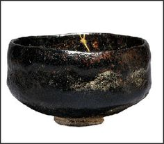 Rikyu tea ceremony cup in collection of British Museum