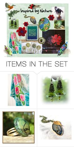 """""""Inspired by Nature"""" by owlartshop ❤ liked on Polyvore featuring art, integrityTT, EtsySpecialT and etsyflashmob"""