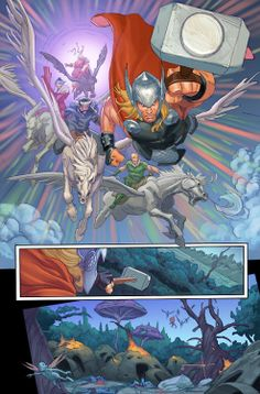 Thor - Ron Garney