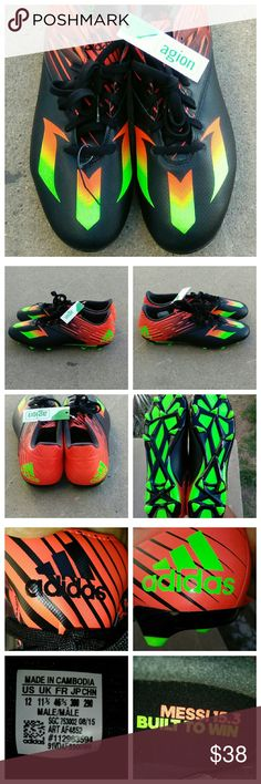 the latest 1ff9c 5e041 Men s adidas Messi 15.3 soccer cleats These are new never worn some tags  still attached I