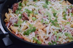 Skillet Sausage Pasta-021.jpg by From Valerie's Kitchen, via Flickr