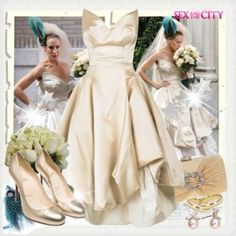 3d80b7c94b6 Vivienne Westwood Wedding Dress, Carrie Bradshaw, Carry On, Hand Luggage,  Carry