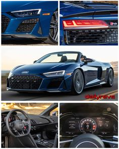 2020 Audi Spyder [US] - HD Pictures, Videos, Specs & Informations - Dailyrevs Audi R8 Gt, Audi R8 V10 Plus, Audi R8 Interior, Dual Clutch Transmission, Audi Sport, Car Detailing, Bmw M5, Dream Cars, Cars