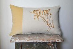 Pinch River | www.australiandesigner.net.au | Locally designed + made for your home. Designs that make you smile! Embroidered Cushions, Throw Pillows, Make It Yourself, Bird, Fabric, Cockatoo, River, Smile, Design