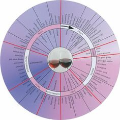 Red Wine Aroma Wheel
