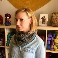 So Easy Cowl pattern by Michele Goodson | malabrigo Rastita in Arco Iris
