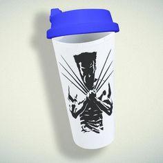 Marvel Xmen Double Wall Plastic Mug – giftmug Eco Friendly Cups, Plastic Mugs, Marvel Xmen, Gifts For Family, Wall Design
