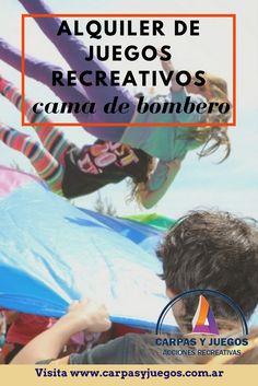 Cama de Bombero - Visitá nuestra página wwwcarpasyjuegos.com.ar ALQUILER DE JUEGOS > RECREATIVOS - #Juegos #Evento #AlquilerDeJuegos #JuegosRecreativos Movie Posters, Movies, Firefighters, Games, Events, Films, Film Poster, Cinema, Movie