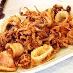 Calamares a la romana | Recetas de Cocina Casera - Recetas fáciles y sencillas