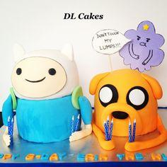Adventure Time cake #adventuretimeparty #adventuretime #adventuretimecake