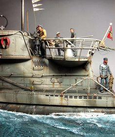 """U-Boat Type VIIC, 9th U-flotilla Brest 1942"""