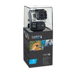 Great for capturing outdoor action. Mount the Go Pro Hero camera on your helmet or bike etc and off you go!