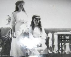 "The Last Tsar ""The Little Pair"" Maria and Anastasia"