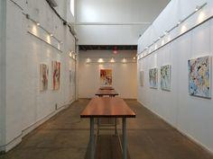 Gallery exhibit Laura Kmetz at Rialto Theatre.
