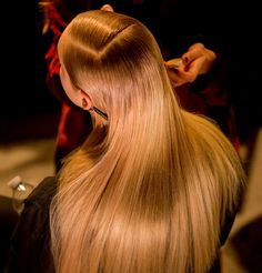 Is the Sleek Blowout Making a Comeback? New York Fashion Week's Slick Hair Story