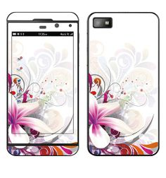 SKIN BLACKBERRY Z10 - BOUQUET PRINTANNIER
