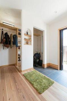 収納方法が変えられる大容量シューズクロークのある玄関 #玄関 #シューズクローク #igstylehouse #アイジースタイルハウス