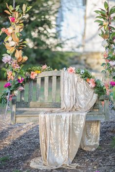 I've never met a styled shoot I didn't want to swoon, but this Kentucky Derby bridal shower takes that love to a whole new level. And what's even better than playful pastels, pretty pink florals and those wide brimmed hats Bridal Decorations, Living At Home, Photo Backgrounds, Garden Art, Garden Wedding, Wedding Designs, Pretty In Pink, Marie, Backdrops