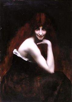 Juana Romani (Velletri, 1867 – Parigi, 1924), La Rossa Ritrattista italiana vissuta a Parigi, dove si era trasferita con i genitori da bambina, pittrice, modella e fotografa.