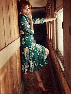 Shop Eva Mendes Collection - Pia Shirtdress - Floral . Find your perfect size online at the best price at New York & Company.