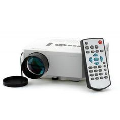 Projector, Mini LED Projector, LCD Image System, LED Lamp, 150 Lumens